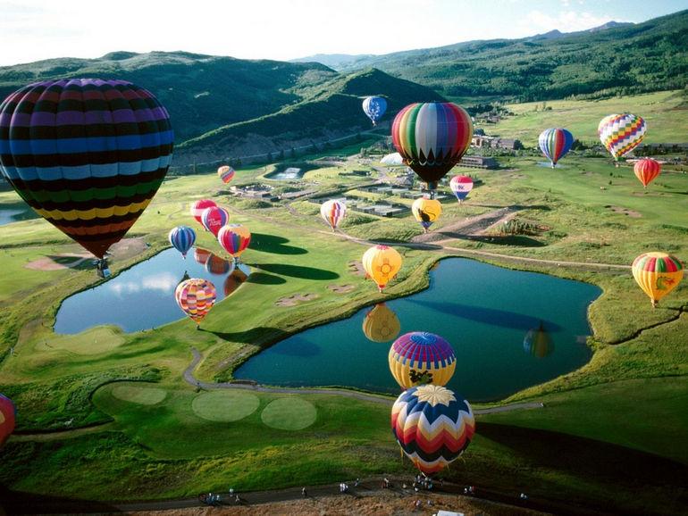 Фестиваль воздушных шаров (Франция)