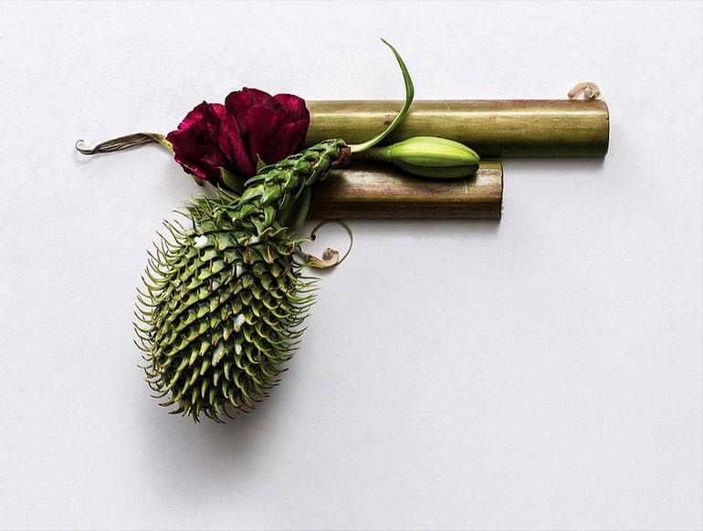 Оружейный арт-проект от Сони Ренщ Sonia Rentsch Harm Less