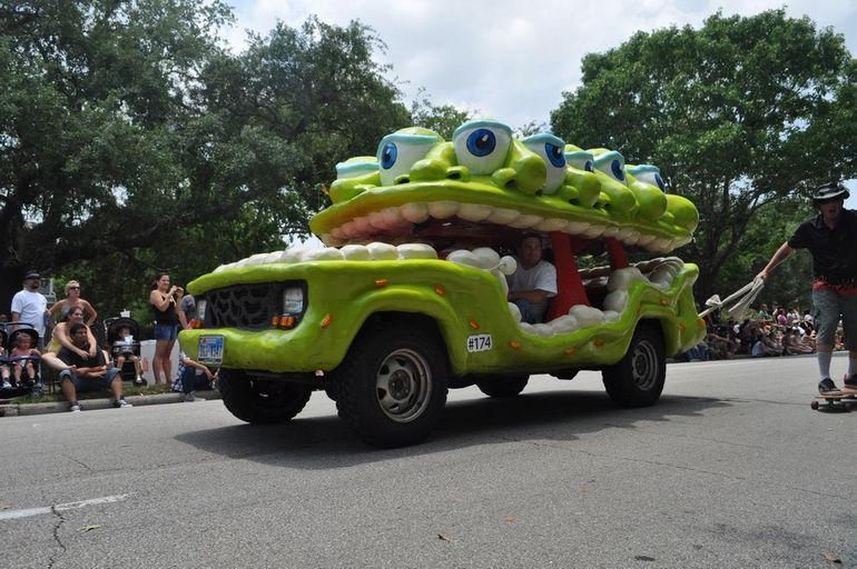 фестиваль The Art Car Parade (США)