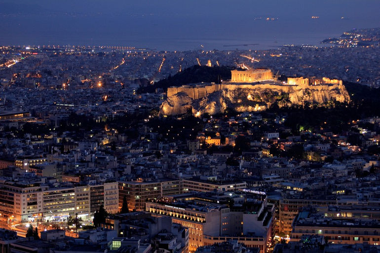 Акрополь в Афинах (Греция)