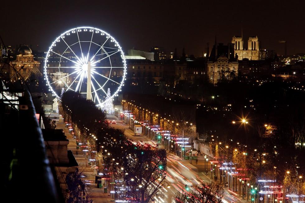 éclairages Champs Elysées 2011OTCP