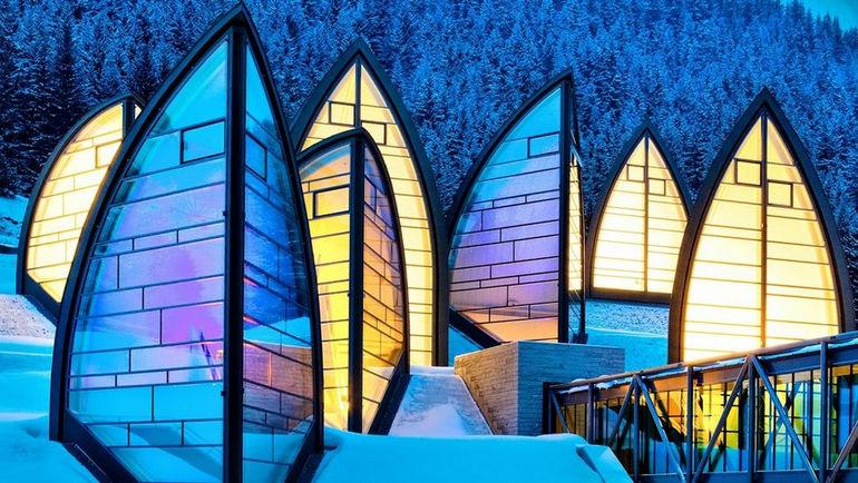 Швейцарский Tschuggen Grand Hotel