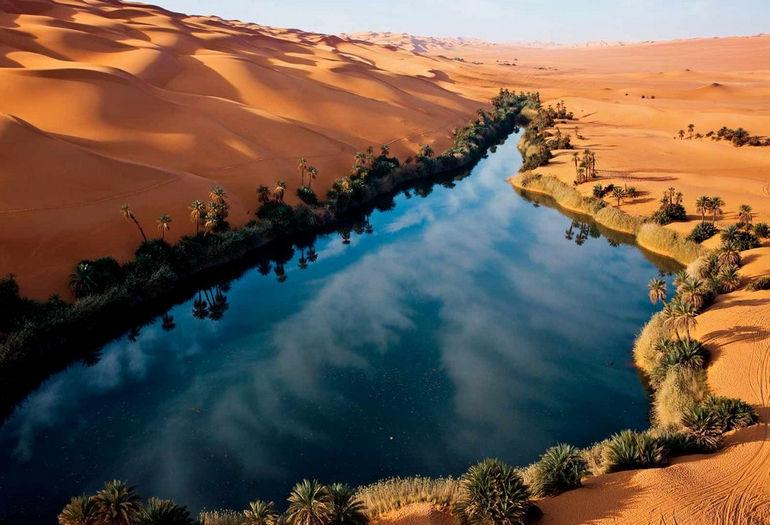 озера Убари, Ливия