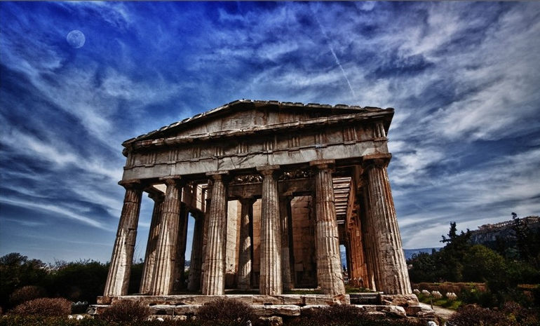 Храм Гефеста в Афинах (Греция)