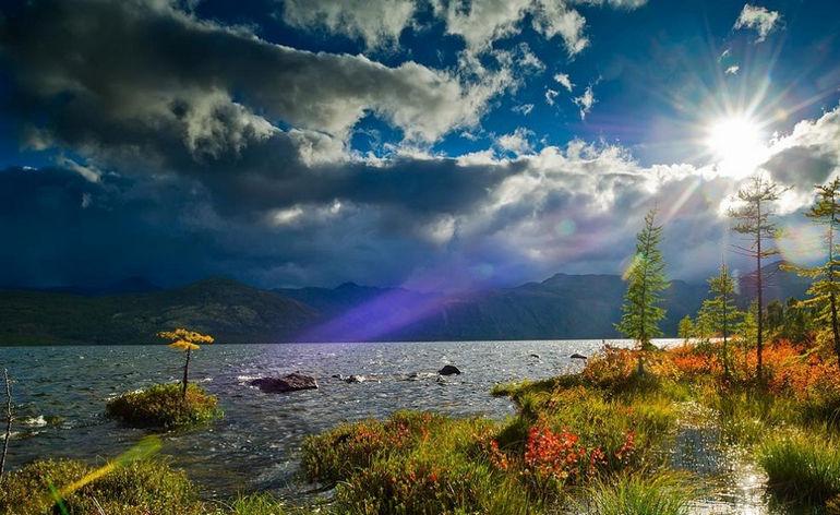 озеро Джека Лондона, Магадан (Россия)