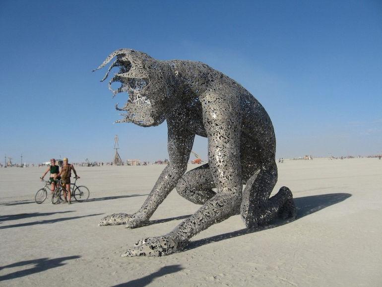 фестиваль «Горящий человек», Невада (США)