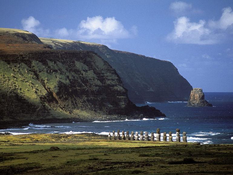 Загадочные каменные истуканы острова Пасхи