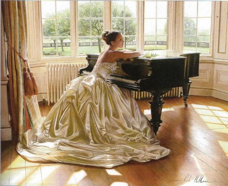 гиперреалистичные свадебные картины от Роба Хефферана (Англия)