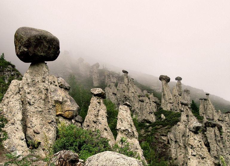 Каменные грибы Алтая: чудесное детище природы (Россия)