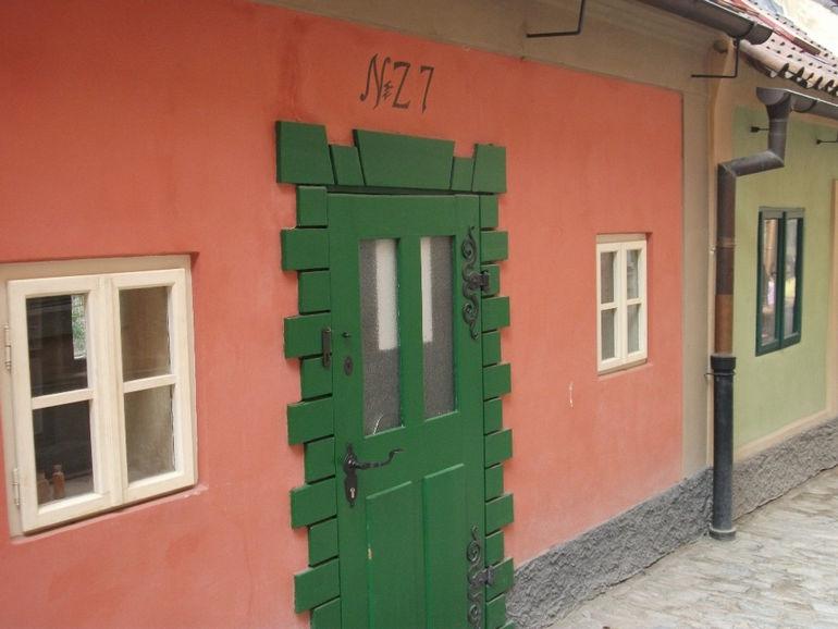 Золотая улочка в Праге (Чехия)