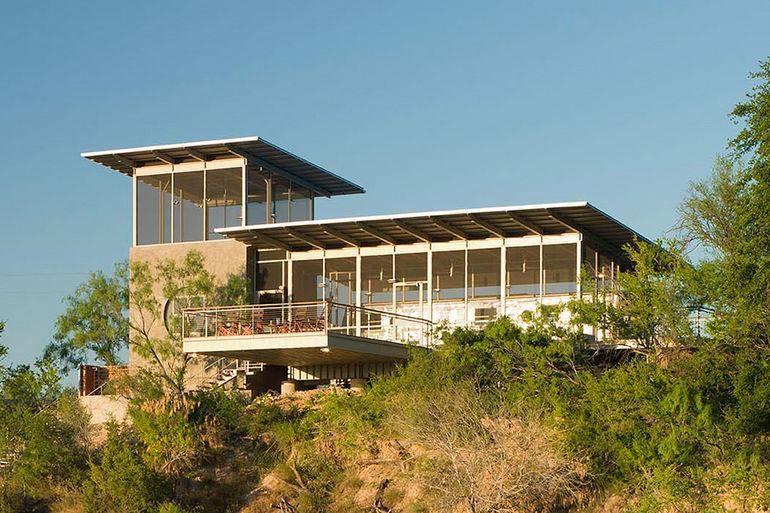 Алюминиевый загородный дом в Техасе (США)