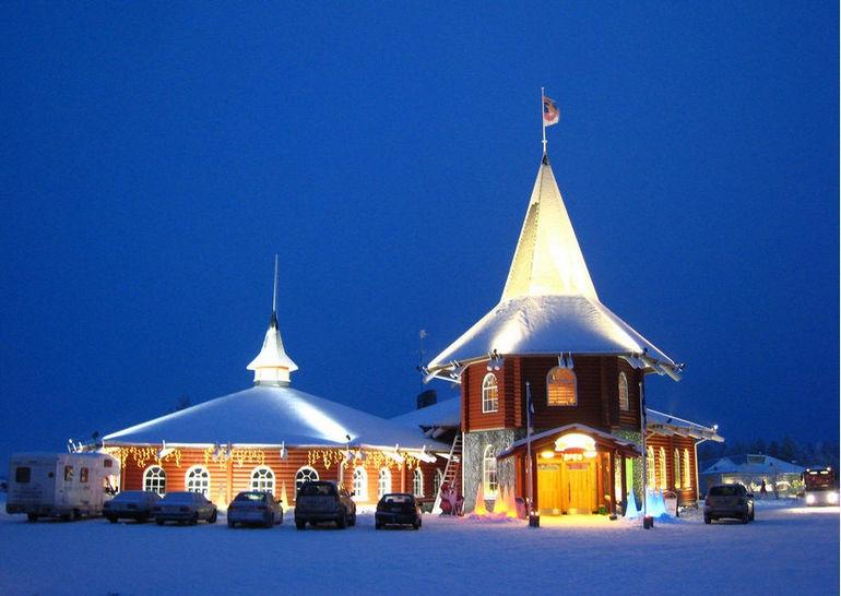 Деревня Санта-Клауса: место, где рождается сказка (Финляндия)
