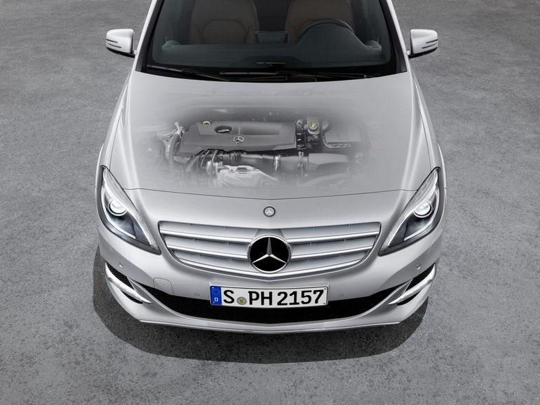 Mercedes-Benz B-Klasse, (W 242), 2012, Natural Gas Drive