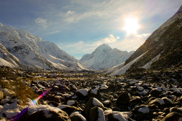 Hooker Valley Trail - Mt. Cook