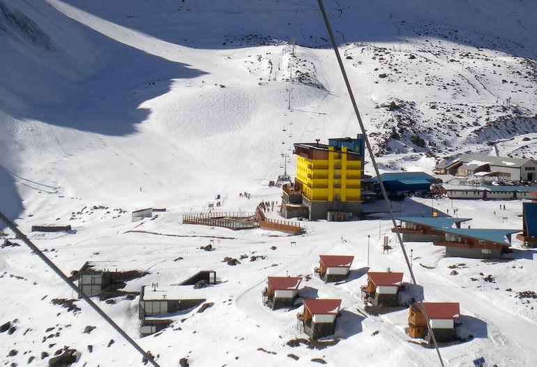 Горнолыжный курорт Портилло (Чили)