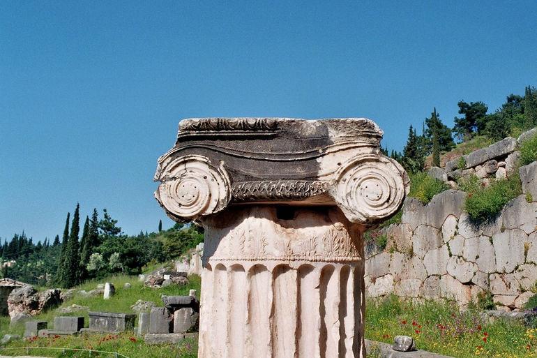Руины Дельф (Греция)