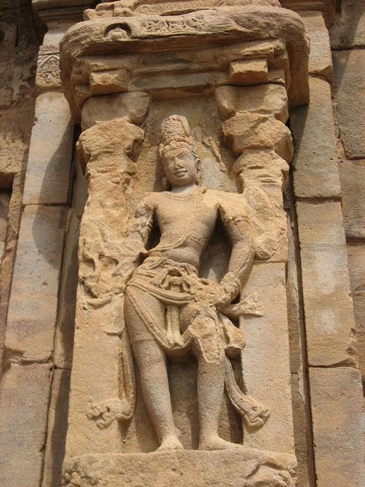 Siva, exterior wall niche, Virupaksha temple, PATTADAKAL