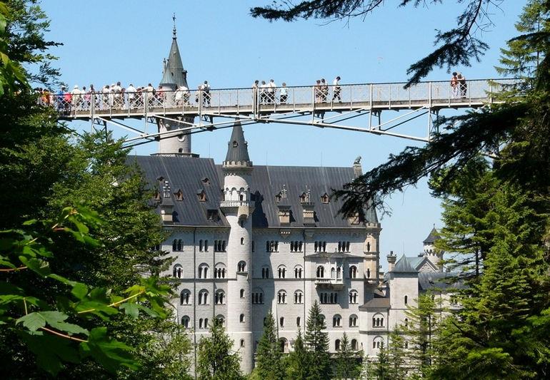 Сказочный замок в сердце Баварии: Нойшванштайн (Германия)