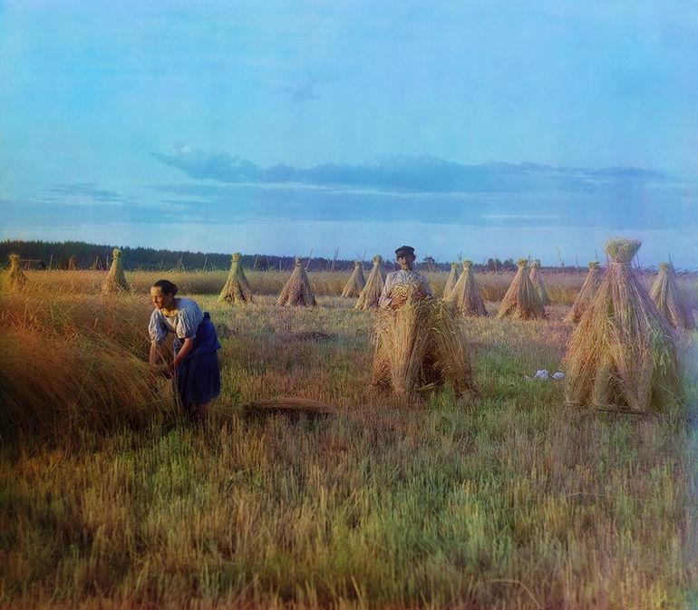 Цветные фотографии Сергея Прокудина Горского времен царской России