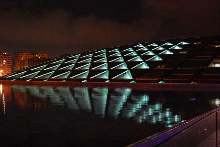 Bibliotheca_Alexandrina_night