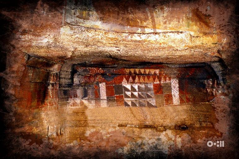 Разрисованная пещера: художество первобытных аборигенов (Испания)