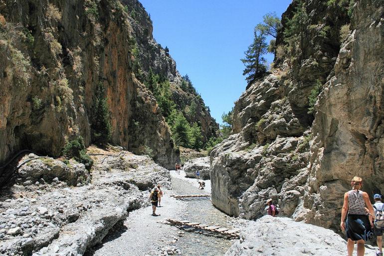 Самарийское ущелье (Греция)