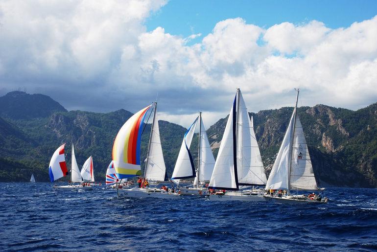 Морской фестиваль в Мармарисе (Турция)