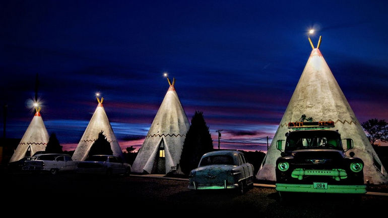 cement-wigwams-for-rent-at-the-wigwam-motel-holbrook-arizona