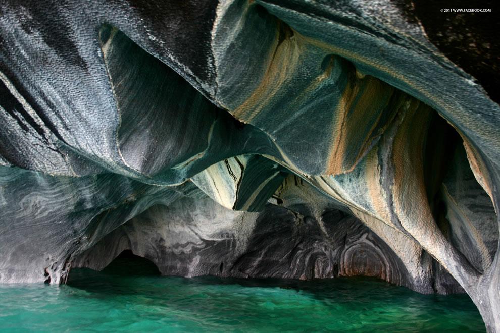 Пещера Чилийский Мраморный собор