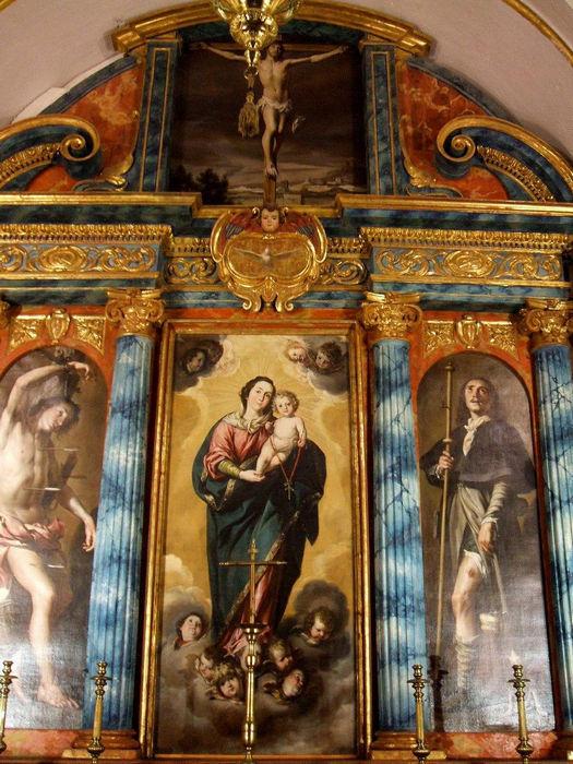 Cordoba_-_Mezquita-Catedral,_Cap._del_Rosario.