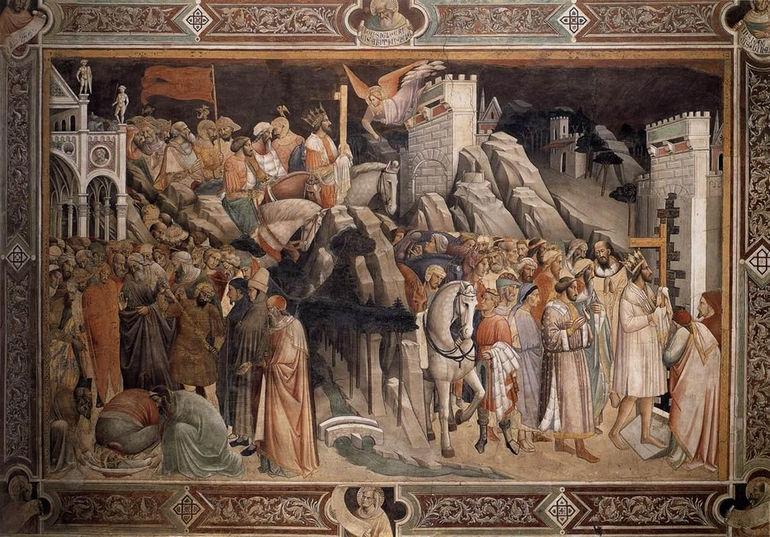 Gaddi_Agnolo-The_Triumph_of_the_Cross_detail