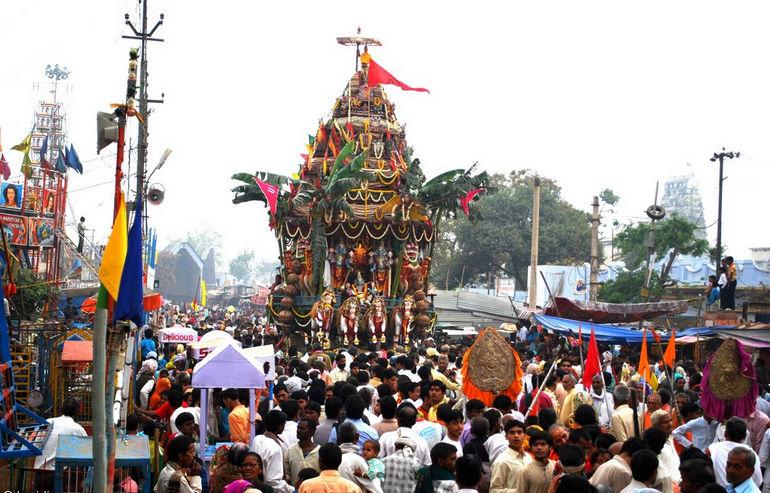 Ратха-Ятра: священный праздник индусов (Индия)