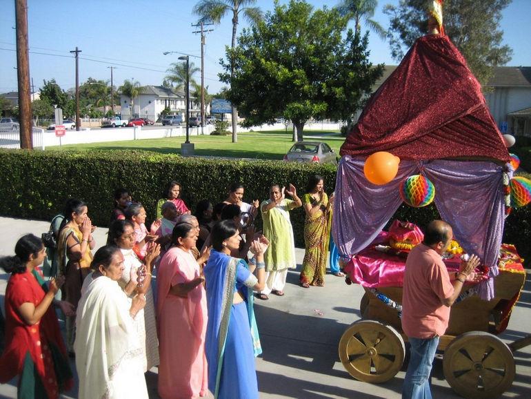 Rathyatra at Swaminarayan Temple Norwalk 27