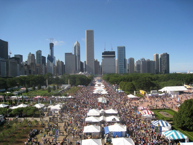 Фестиваль «Вкус Чикаго» (США)