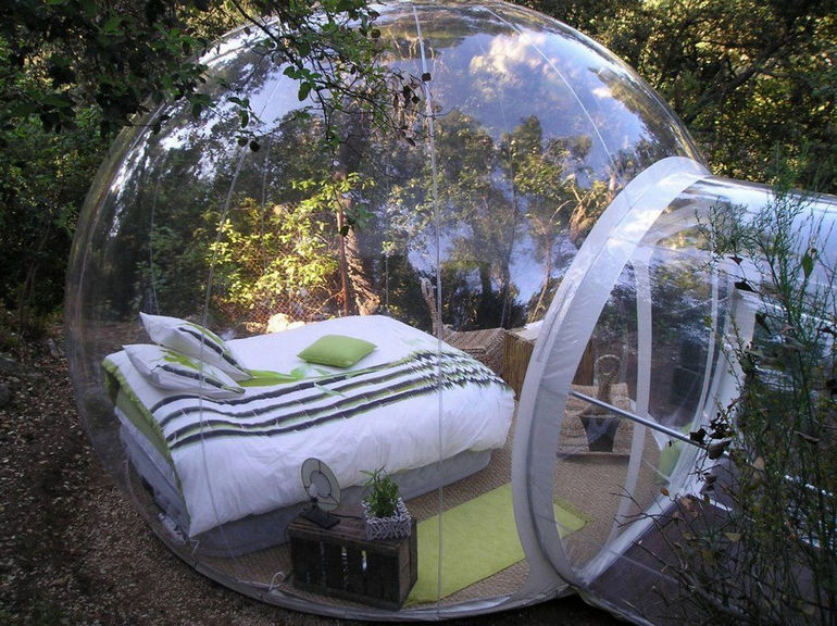 bubble-bed
