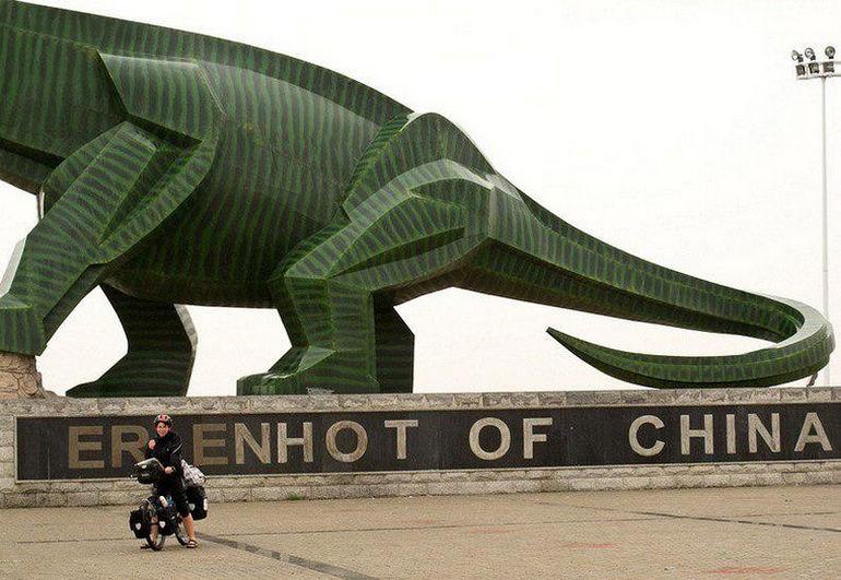 Целующиеся динозавры Эрэн-Хото (Китай)