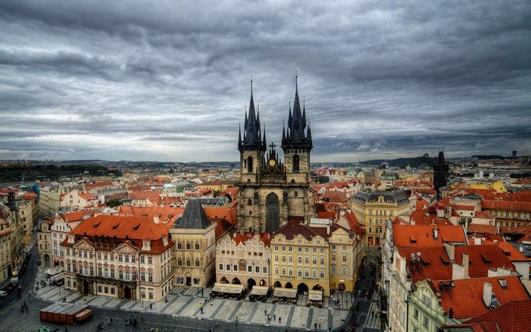 Тынский храм в Праге (Чехия)
