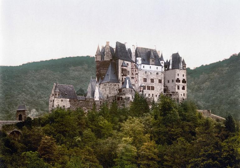 Burg_Eltz_um_1900
