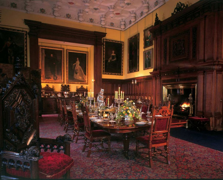замок Шотландии Гламис