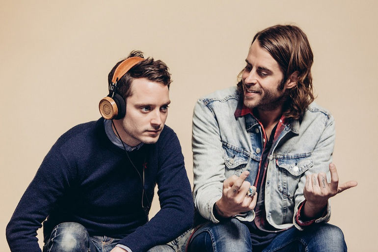 Elijah-Wood-and-Zach-Cowie-who-designed-the-Bushmills-x-Grado-Labs-headphones