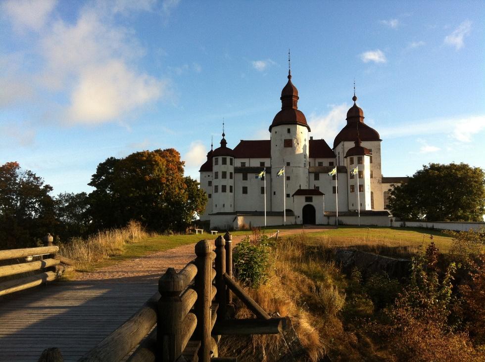Замок Леке в Вестра-Гёталанде (Швеция)