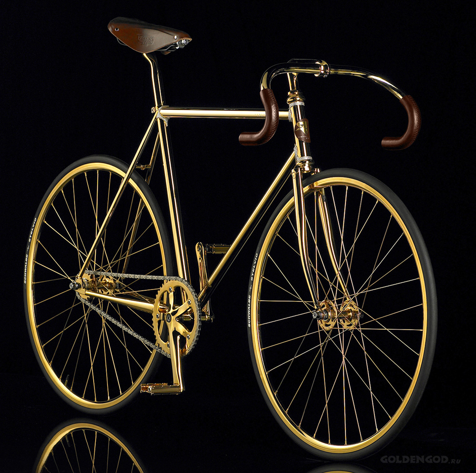 The-World-Most-Expensive-Bike-Aurumania's-Gold-Bike-With-Crystals