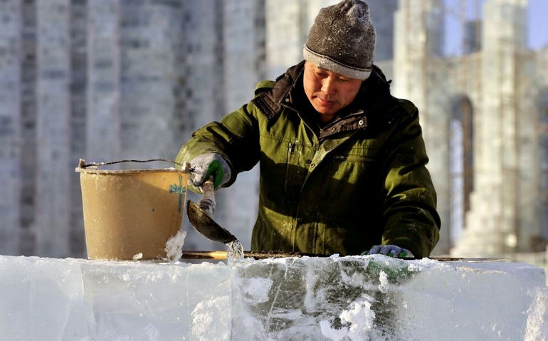 30-й Харбинский международный фестиваль льда и снега 2014 (Китай)