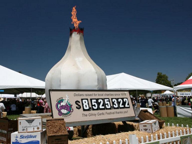 Фестиваль чеснока в Гилрое (США)