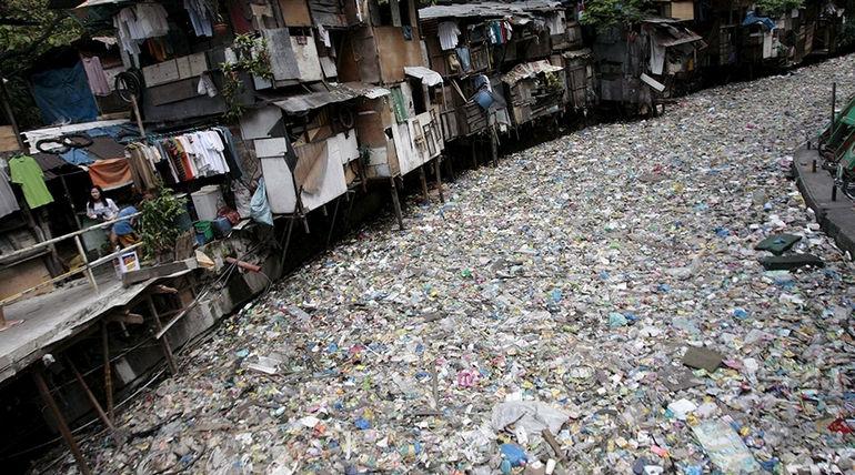 Река Цитарум: самая загрязненная река в мире (Индонезия)