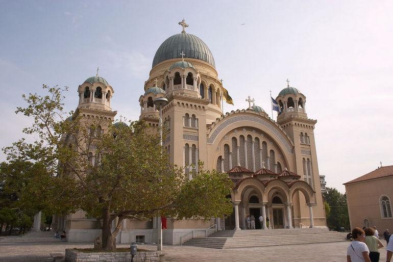 Собор Андрея Первозванного в Патрах (Греция)