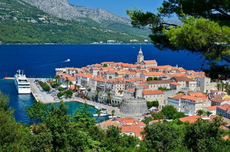 Корчула: один из красивейших островов Адриатики (Хорватия)