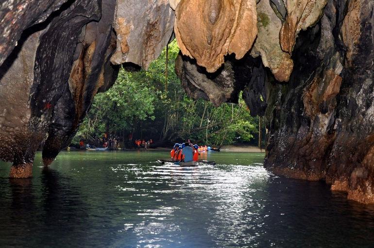Подземная река Пуэрто-Принсеса (Филиппины)