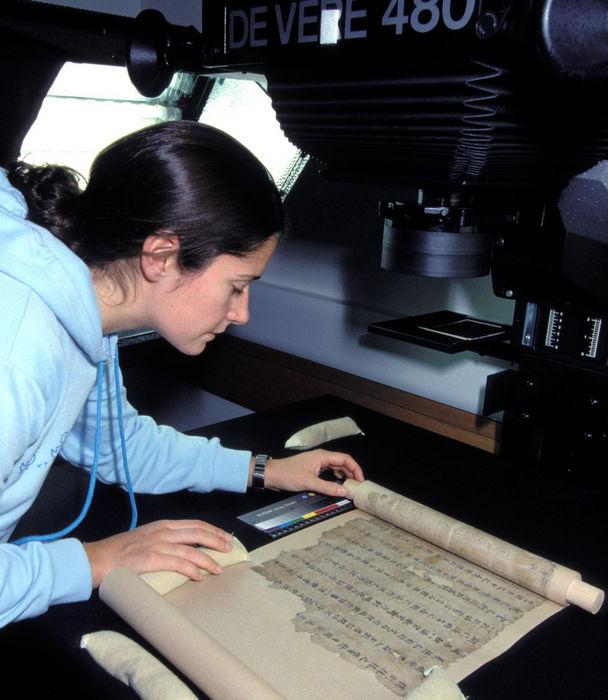 Digitisation_of_a_Dunhuang_manuscript