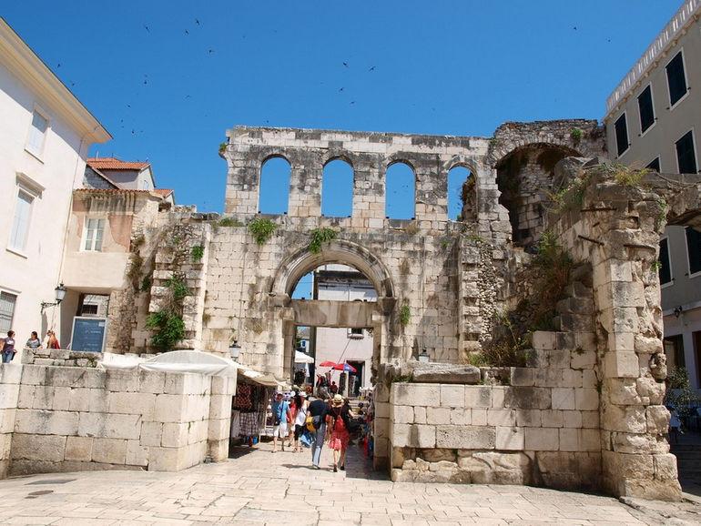 Дворец Диоклетиана в Хорватии